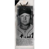 1952 Press Photo Virgil ran up his IInd no-hit performa - RRW73677