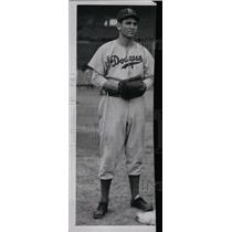1947 Press Photo Ed Stevens Brooklyn Dodgers Baseball - RRW83179
