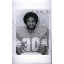 1977 Press Photo Detroit Lions Wayne Mosley - RRX38667