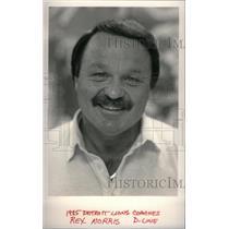 1985 Press Photo Norris Line Detroit Lions - RRX38565