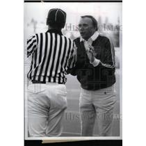 1985 Press Photo Darryl Roger Arizona State Coach Lion - RRX39041