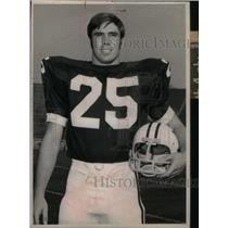 1973 Press Photo Detroit Lions Safety Mike Weger - RRX39377