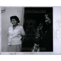 1967 Press Photo Mrs. Pablo Ortiz Giants - RRU89901