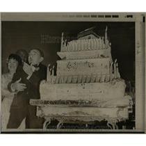 1969 Press Photo  Rodolph   Rodolph Fri ml celebrates