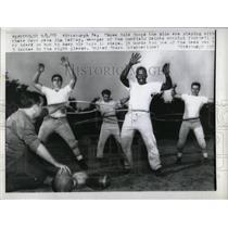 1958 Press Photo Garfield Saints Sandlot Football - RRY73791