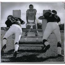 1969 Press Photo Tom Mayes Denver Lutheran Coach - RRX43039