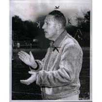 1954 Press Photo Coach Harold Grove Mumford High - RRX58859