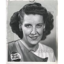1949 Press Photo Ethel Hanna bowler Vacne - RRW30293