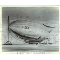 Press Photo Illustration of Blimps-Dirigibles - cvb37077