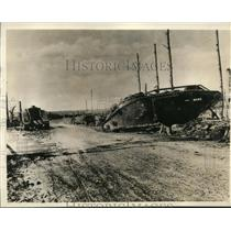 1936 Press Photo Rhineland, Germany-World War I lethal blasts - cvb33095