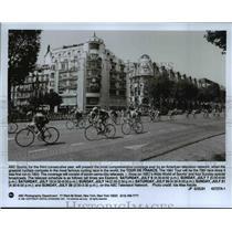 1991 Press Photo ABC sports presents coverage of the Tour De France 78th race.