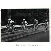 1991 Press Photo Hastings family-Bally's Scandinavian Triathlon - cvb54148