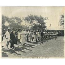 1959 Press Photo Pan American Games Tennis Club - RRW52133