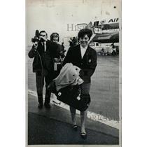 1967 Press Photo Nancy Greene world ski honor airport - RRW80601