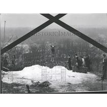 1969 Press Photo Coy Hill Norge Ski Meet Cary Illinois