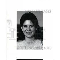 1991 Press Photo Julie Watson, Wadsworth, Cross Country - cvb34328