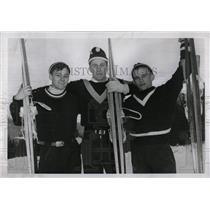1958 Press Photo Richard Dick Rahoi Champion Skier - RRW77661