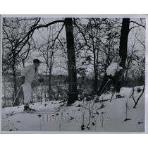 1948 Photo Pontiac Ski Club At Highland Rec Area - RRU89587