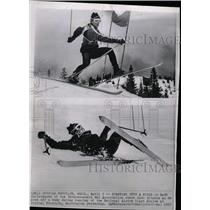 1965 Press Photo Ladd Christensen Skier - RRW73719