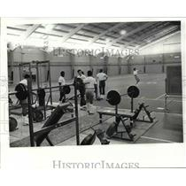 1983 Press Photo Gym - cvb40351