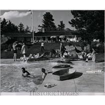 1962 Press Photo J C Doziers Deer Creek Valley Ranch - RRW83721
