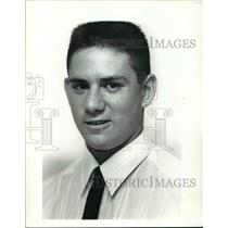 1990 Press Photo Mike Locigno of Holy Name Baseball Team in Cleveland