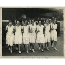 1930 Press Photo Detroit Tennis Club - RRW01063