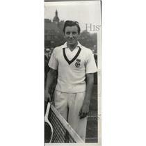 1934 Press Photo Frederick John Perry English tennis - RRW82125