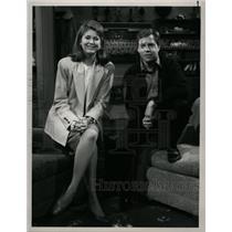 "1989 Press Photo ""Later with Bob Costas"" Anniversary - RRW19777"