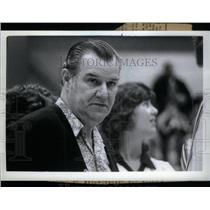 1986 Press Photo Trenton volleyball coach James Monroe - RRX44471