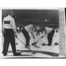1958 Press Photo National Curling Championship - RRW54167