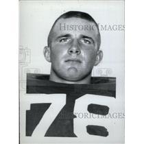1965 Press Photo Larry Baird Eastern Illinois Grinder - RRW74957