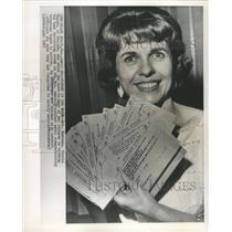 1963 Press Photo Mrs America contest winner Mrs Montana - RRW42543