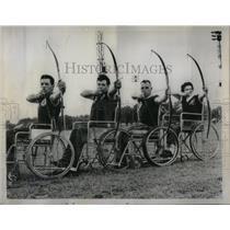 1957 Press Photo Wheel Chair Wonders of Montreal - RRX15363