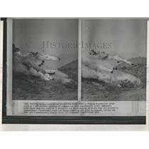 1964 Press Photo DC7 Airliner Safety Test Crash Phoenix - RRX84839