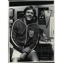 1977 Press Photo John Borszcz-wrestling coach - cvb55599