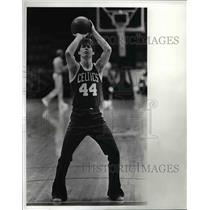 1982 Press Photo Danny Ainge Boston Celtics - cvb65934