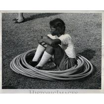 1972 Press Photo McKinley Park Hula Hoopers