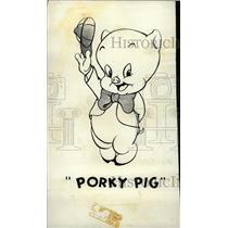 1976 Press Photo Porky Pig Of The Bugs Bunny Show - RRW76749