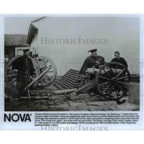 1990 Press Photo The Gatling Gun - cvb28623