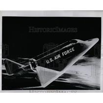 1962 Press Photo High Reentry heat USAF space glider - RRX67703
