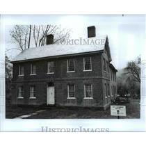 Press Photo Asa Stebbins house-Deerfield Massachusetts - cvb23218