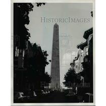 Press Photo The Bunker Hill Monument in Boston, Massachusetts - cvb23819