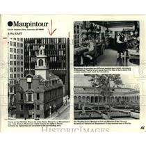 1996 Press Photo The Old State House, site of the Boston Massacre - cvb24193