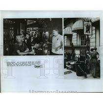 "1985 Press Photo The Bull and Finch Pub in Boston, model for ""Cheers"" program"