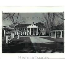 1987 Press Photo South Carolina Charleston Boone hall Plantation - cvb36914