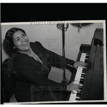 1939 Press Photo Dorothy Maynor/Soprano/Singer/Piano - RRW08179