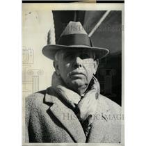 1930 Press Photo American Novelist Theodore Dreiser - RRW98149