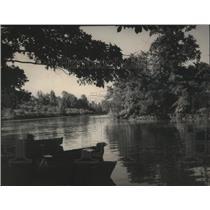 1951 Press Photo Inlet of Wilson Lake in Alabama - abna07374