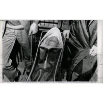 1962 Press Photo Germany Refugee